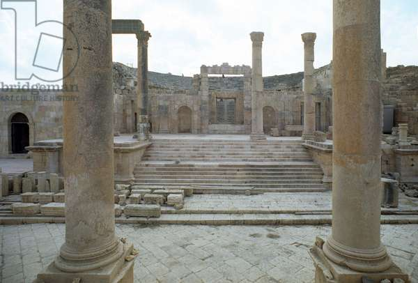 The Large South Theatre, 1st Century a.D.