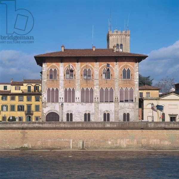 Medici Palace - former Appiano Palace (Palazzo Medici - già Palazzo Appiano), 13th Century