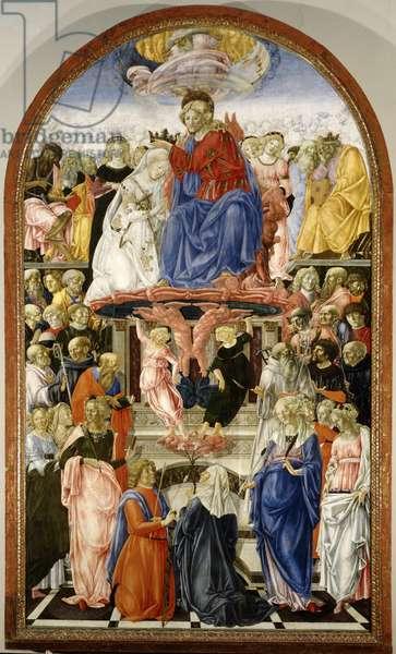 Coronation of the Virgin, 1472