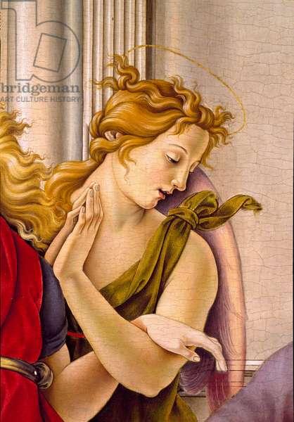 Angel, 1490 (panel painting)