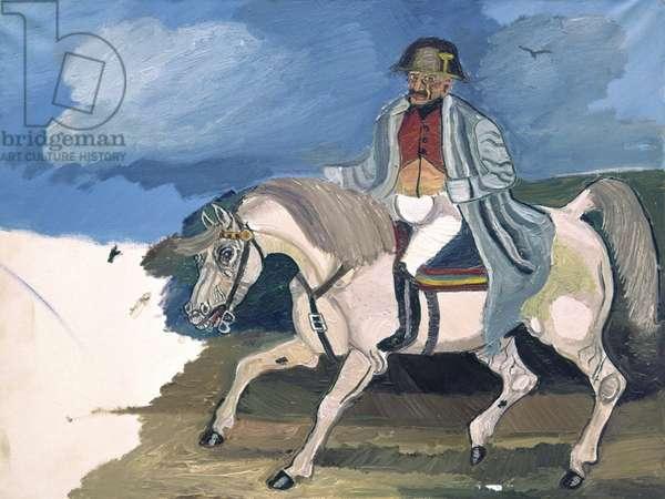 Napoleon Riding, 1961 (oil on canvas)
