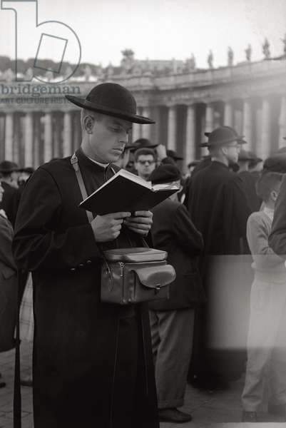 Priest in St. Peter's Square