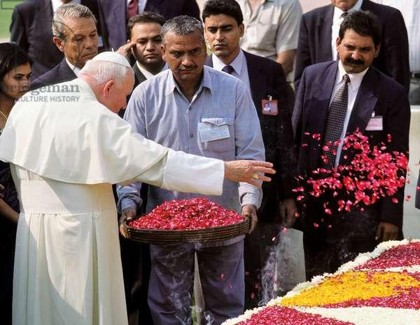 Pope John Paul II, New Delhi, India