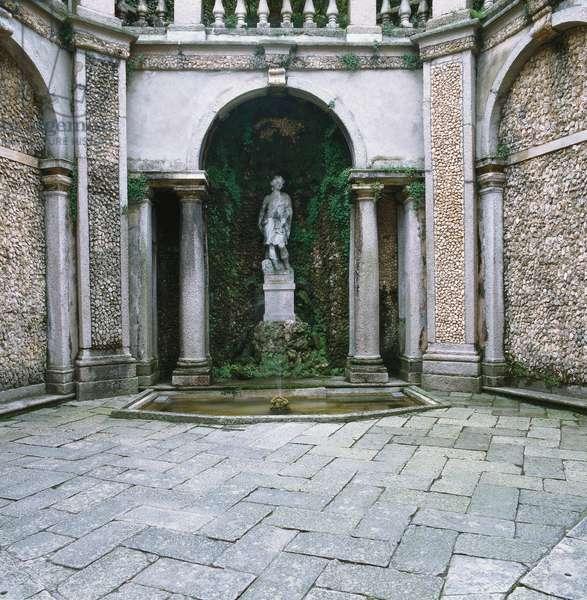Borromeo Gardens on Isola Bella (Giardini di Villa Borromeo sull'Isola Bella), 17th Century
