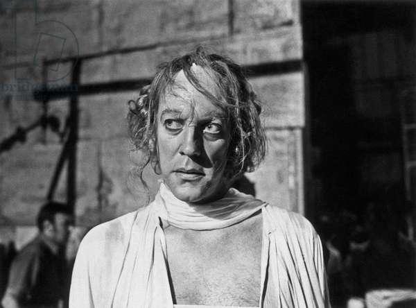 Donald Sutherland in Fellini's Casanova, 1976 (b/w photo)