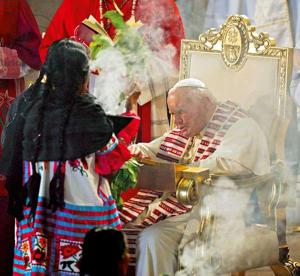 Pastoral Visit of Pope John Paul II to Mexico, Mexico City, Mexico