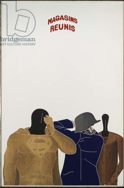 Magasins Reunis, 1969 (acrylic on canvas)