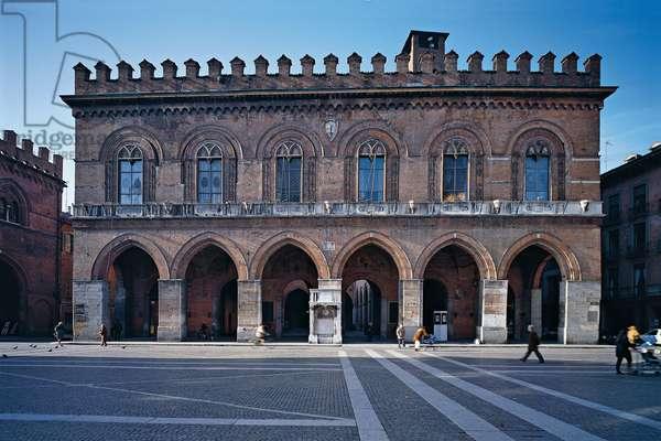 Municipal Building in Cremona (Palazzo Comunale a Cremona), 1206, 13th Century