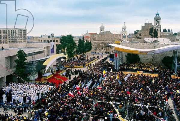 Pope John Paul II, Betlemme, Palestinian Territory