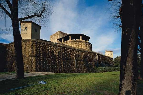 Fortezza da Basso, by Antonio da Sangallo, 1534 - 1537, 16th Century
