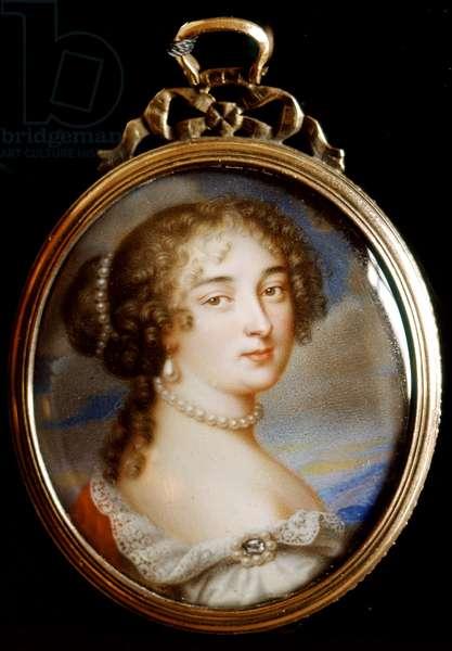 Portrait of Madame de Maintenon (Portrait de Madame de Maintenon), by Jean Petitot, 17th Century