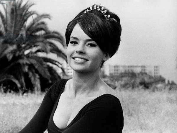 Portrait of Pascale Petit, 1960 (b/w photo)