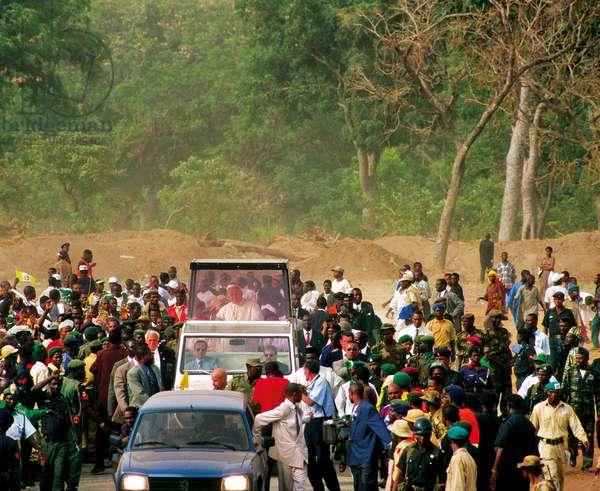 Pope John Paul II, Abuja, Nigeria