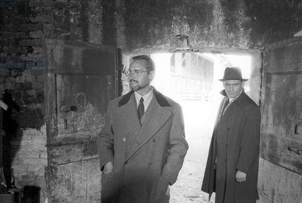 Gian Maria Volonté in the film The Mattei Affair (b/w photo)