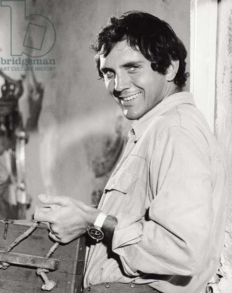 Terence Stamp in 'Modesty Blaise', 1966 (b/w photo)