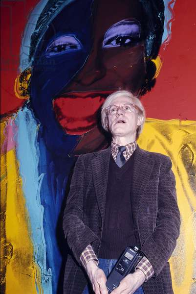 portrait of the artist Andy Warhol, c.1985 (0104694)