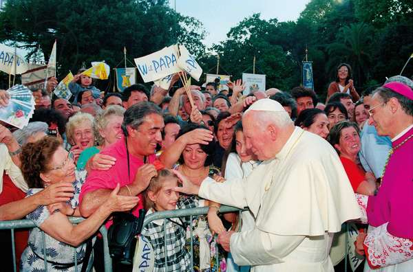 Pope John Paul II, Chiavari, Italy