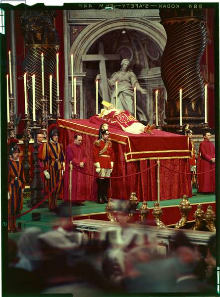 Mortal remains of Pope John XXIII, Vatican City, Vatican City State