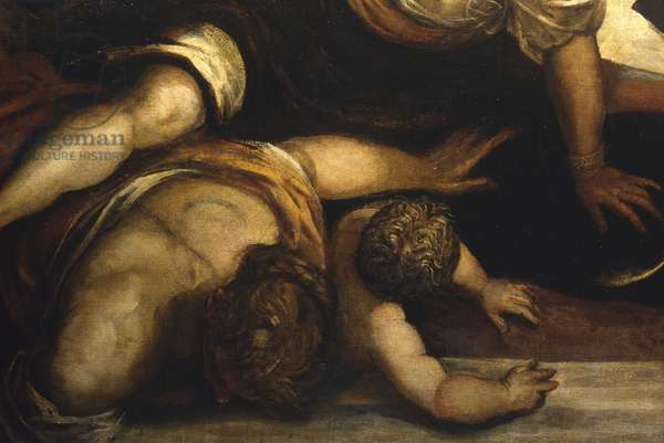 The Massacre of the Innocents, by Jacopo Robusti also known as Tintoretto, 1582, 16th Century, oil on canvas, 422 x 546 cm