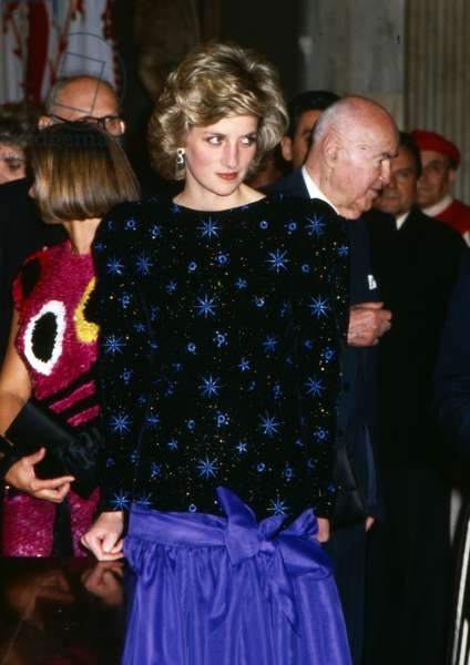 Diana, Princess of Wales, Italy, 1985 (photo)