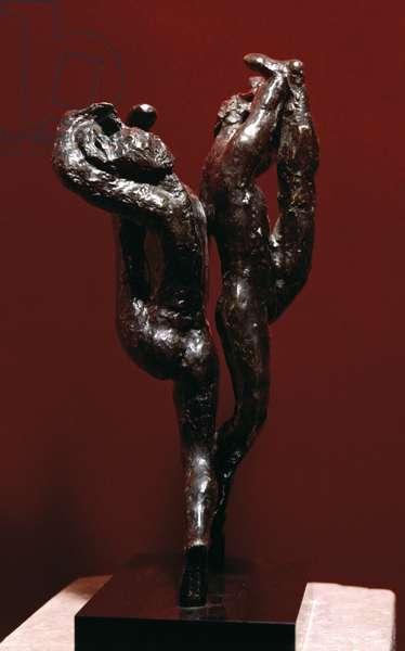 Two step (Pas de deux), by Auguste Rodin, 1910 - 1911, 20th Century, bronze, 43,5 x 18 x 17 cm