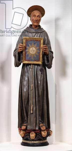 Statue of Saint Bernardine, 1460