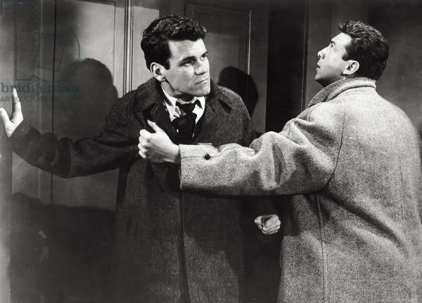 Anthony Franciosa and Don Murray in 'A Hatful of Rain', 1957 (b/w photo)