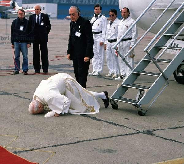 Pope John Paul II, Prague, Czech Republic