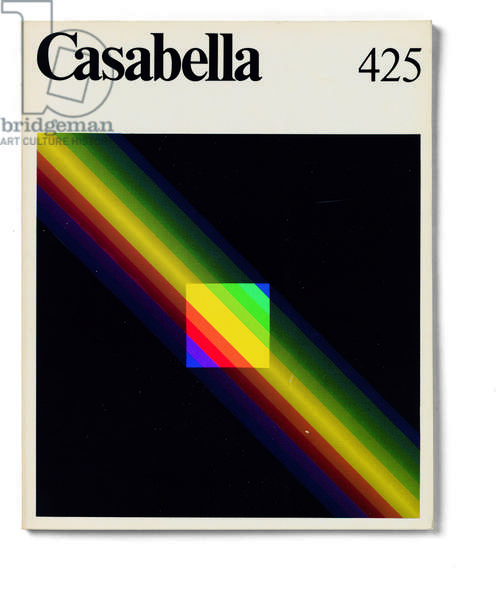 Cover of Casabella, N. 425, May 1977, 20th Century, graphic, 31 x 24,5 cm