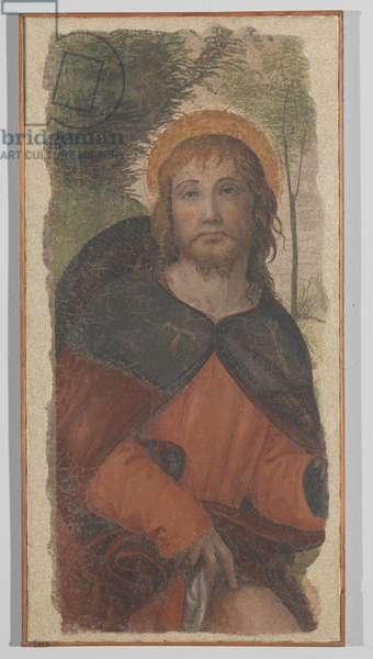 Saint Roch (fresco transferred to canvas)