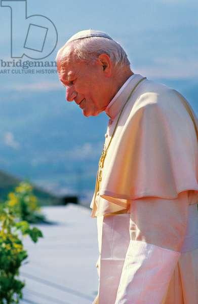 Pope John Paul II, Tindari, Italy