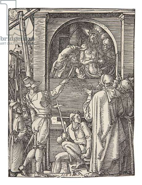 Ecce Homo, by Albrecht Durer, 1509, 16th Century (xylography on laid paper)