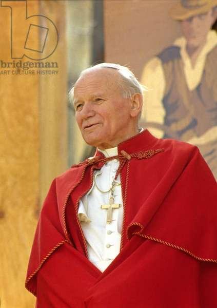 Pope John Paul II in Sorrento, Sorrento, Italy