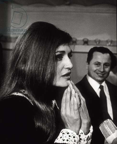 Dalida at the 17th Sanremo Festival