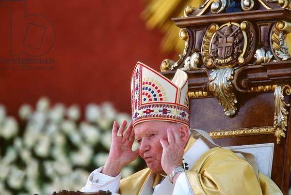 Pope John Paul II, Guatemala City, Guatemala