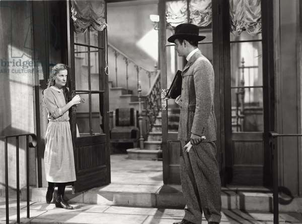 Joan Fontaine and Louis Jourdan in 'Letter From An Unknown Woman', 1948 (b/w photo)