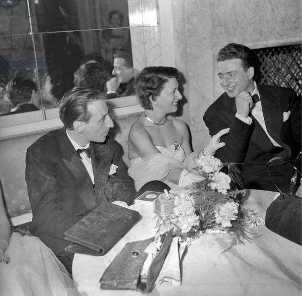 Guests at the Red Cross Ball, Milan, Italy
