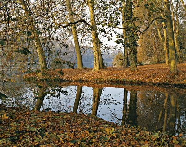 Jean-Jacques Rousseau Park (Parc Jean-Jacques Rousseau), 1765 - 1776, 18th Century
