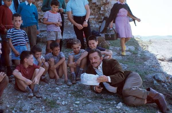 Kirk Douglas in The Brotherhood, Italy, 1968 (photo)