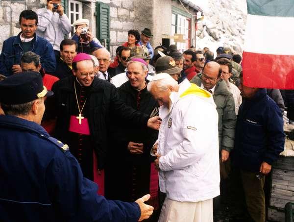 Pope John Paul II, Italy, 1988 (photo)