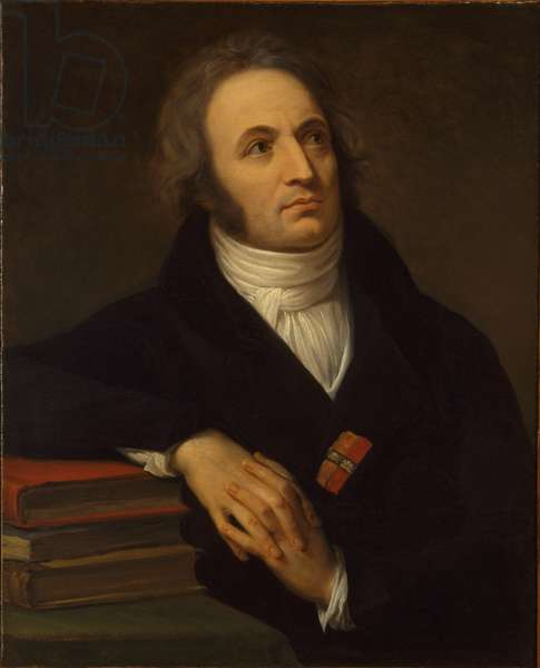 Portrait of Vincenzo Monti, 1808 (oil on canvas)