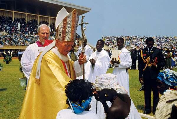 Pope John Paul II, Banjul, Gambia