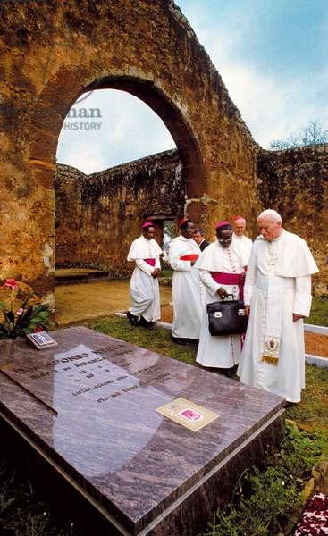 Pope John Paul II, M'Banza Congo, Angola