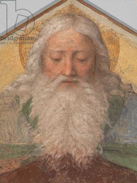God Father (fresco transferred to canvas)