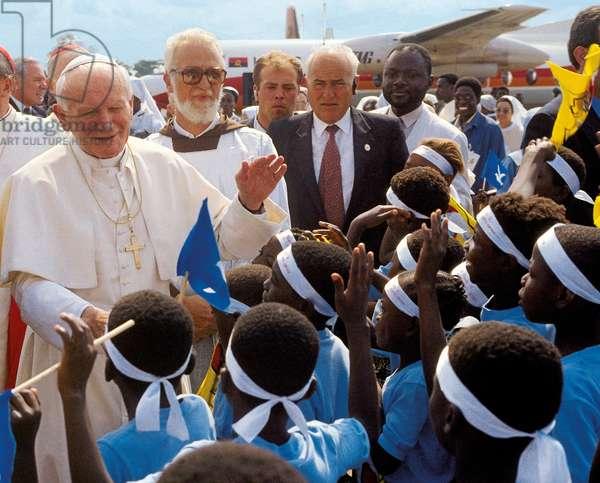 Pope John Paul II, Cabinda, Angola