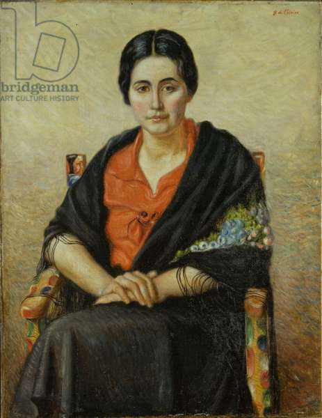 The Spanish Woman, 1930-1935 (oil on canvas)