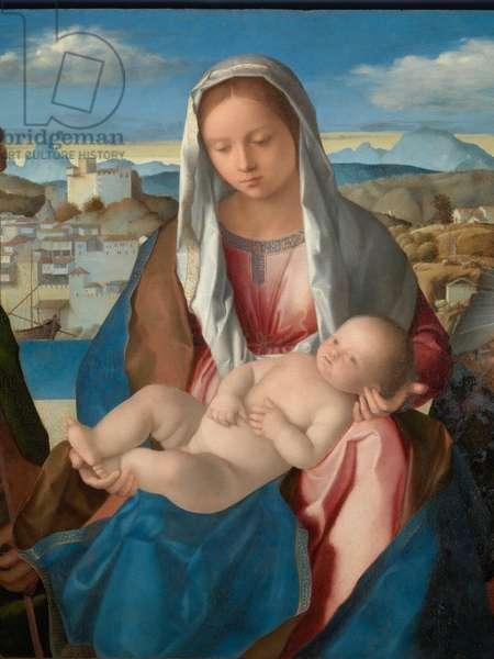 Sacred Conversation Giovanelli (Sacra conversazione Giovanelli), by Giovanni Bellini, 1504, 16th Century (oil on board), 54 x 76 cm