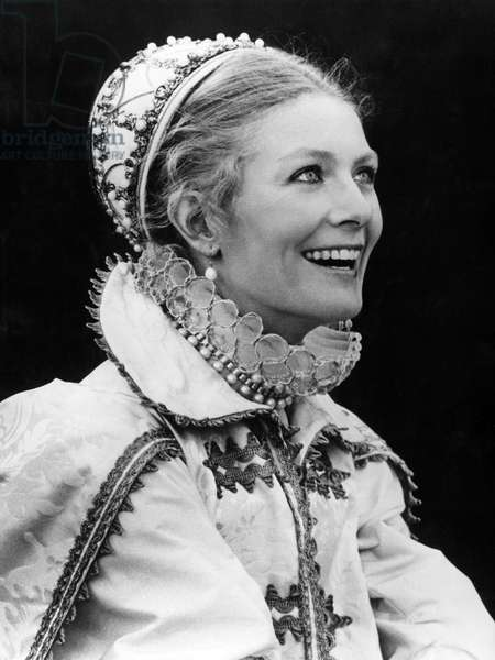 The British actress Vanessa Redgrave playing Mary Stuart in the film 'Mary, Queen of Scots', 1971