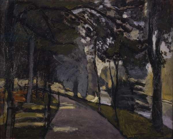 Bois de la Boulogne, by Henri Matisse, 1902, 20th Century, oil on canvas