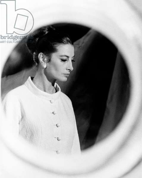 Capucine in 'The Honey Pot', 1967 (b/w photo)